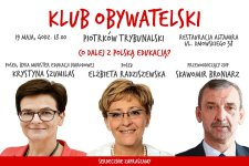 Co dalej z polsk± edukacj±? Klub Obywatelski zaprasza