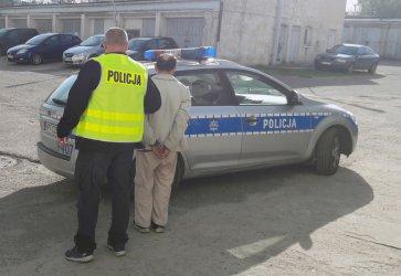 74-letni złodziej zatrzymany