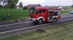 Cztery osoby ranne w wypadku w Korytnicy