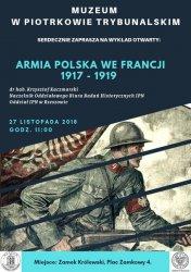 O historii Armii Polskiej w piotrkowskim Muzeum