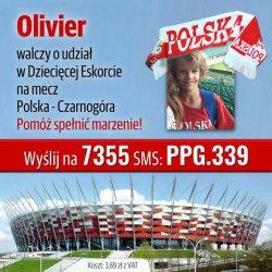 Pomóż Olivierowi spełnić marzenie