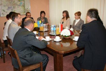 Delegacja z Ukrainy szkoli się w Piotrkowie