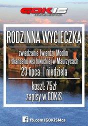 Zwiedzanie Twierdzy Modlin z moszczenickim GOKiS-em
