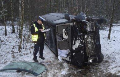 39-latek nie przeżył wypadku