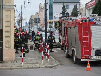Wyciek gazu przy Sienkiewicza w Piotrkowie