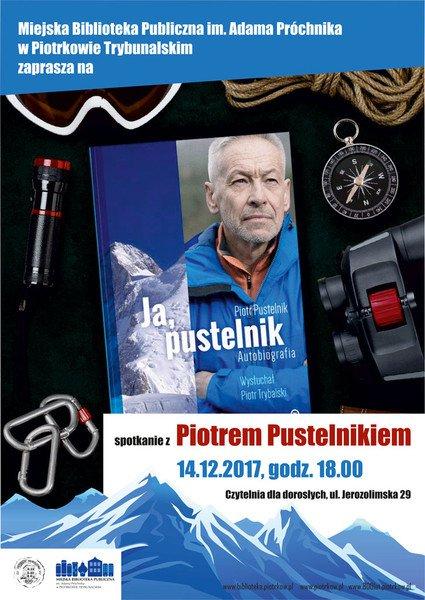 Piotr Pustelnik w piotrkowskiej bibliotece