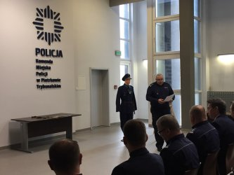 Warsztaty historyczne w piotrkowskiej komendzie