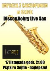 Impreza z saksofonem