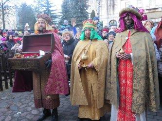 Trzej Królowie przybyli do Piotrkowa