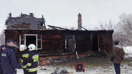 Śmiertelna ofiara pożaru w Kuraszkowie