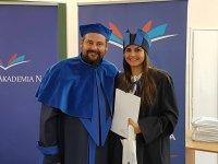 Studenci Spo³ecznej Akademii Nauk w Be³chatowie z dyplomami!