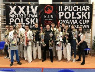 Udane starty klubu Oyama Karate WASHI w krajowych imprezach