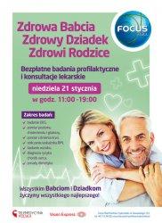 Bezpłatne badania profilaktyczne na Dzień Babci i Dziadka