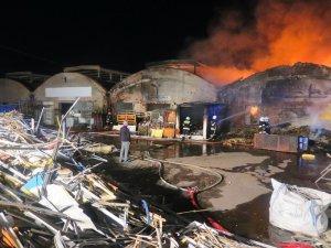 Pożar na Topolowej w Piotrkowie