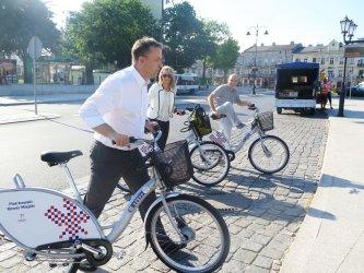 Możecie korzystać z rowerów miejskich
