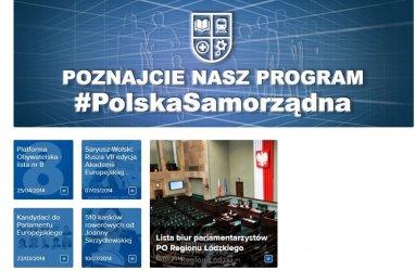 """""""Aktualności"""" lokalnych polityków rok przed wyborami"""