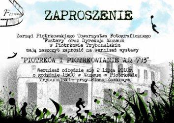 Cykl wystaw o Piotrkowie i piotrkowianach