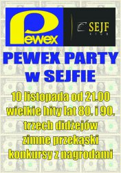 Pewex Party w Sejfie