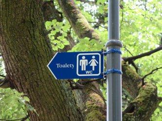 Nareszcie! Toalety w parku Poniatowskiego