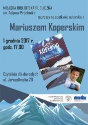 Spotkanie z Mariuszem Koperskim