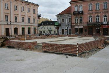 Piotrków: Murek do