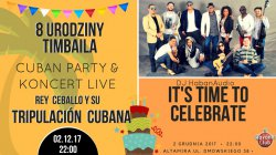 Kubañska fiesta i koncert Rey Ceballo i Tripulación Cubana w Piotrkowie!