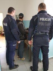Sprawca włamania zatrzymany