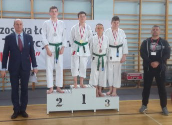 Pierwszy medal piotrkowskiego karateki