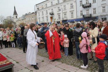 Uczcili wjazd Jezusa do Jerozolimy