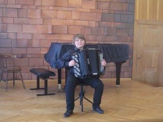 Młodzi akordeoniści zagrali w Piotrkowie
