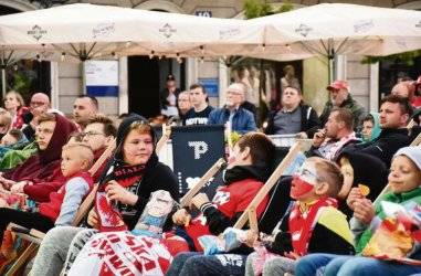 Francja – Chorwacja w finale Mistrzostw Świata. Zobacz to w piotrkowskiej strefie kibica!