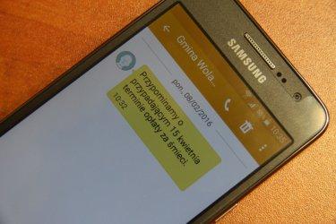 Wkrótce ruszy bezpłatny system powiadomień SMS