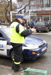 Policyjna akcja drogowa