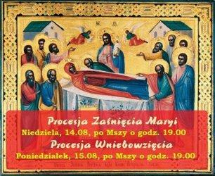 W niedzielę i poniedziałek w Piotrkowie będą procesje