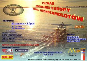 Puchar Centralnej Europy Modeli Wodnosamolotów już w ten weekend nad zalewem w Czarnocinie
