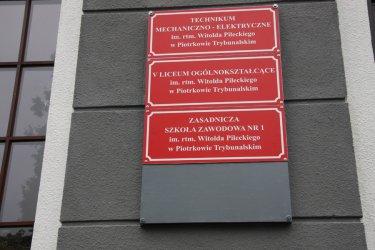 Rotmistrz Pilecki patronem ZSP nr 1