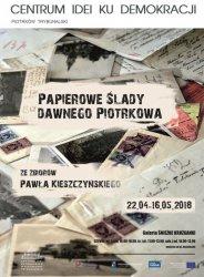 Papierowe ślady dawnego Piotrkowa