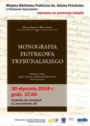 """Promocja """"Monografii Piotrkowa Trybunalskiego"""". Biblioteka zaprasza na spotkanie"""