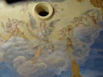 Zabytkowe malowidła u piotrkowskich Bernardynów