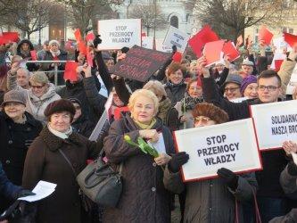 Manifa w Piotrkowie