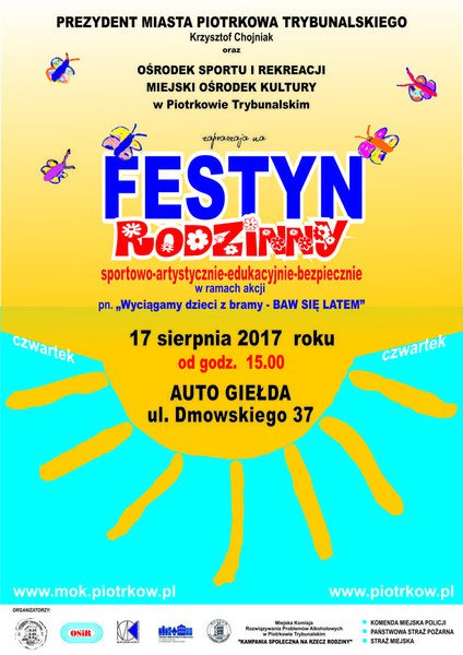 Festyn na terenie Auto Giełdy