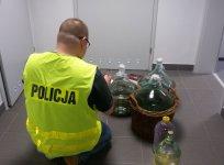 Nielegalny alkohol na terenie gminy Czarnocin