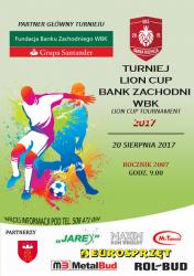 Turniej Lion Cup - Bank Zachodni WBK w Rozprzy