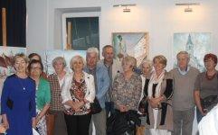 Wystawa plastyczna cz³onków Klubu Seniora