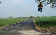 Nowy asfalt w M±kolicach