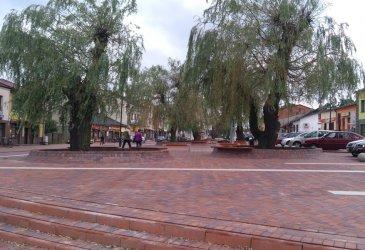 Gorzkowicki rynek wyremontowany