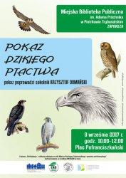 W sobotę pokaz dzikiego ptactwa