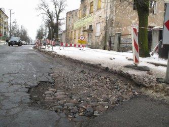 Kiedy dokończą remont ul. Próchnika?
