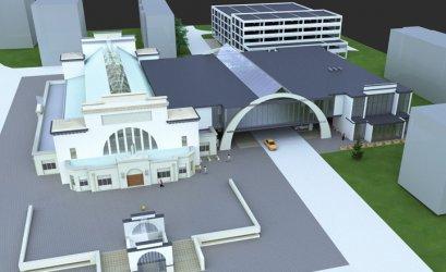 Jest koncepcja rozbudowy Hali Targowej