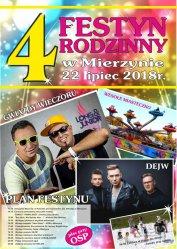 Festyn Rodzinny w Mierzynie